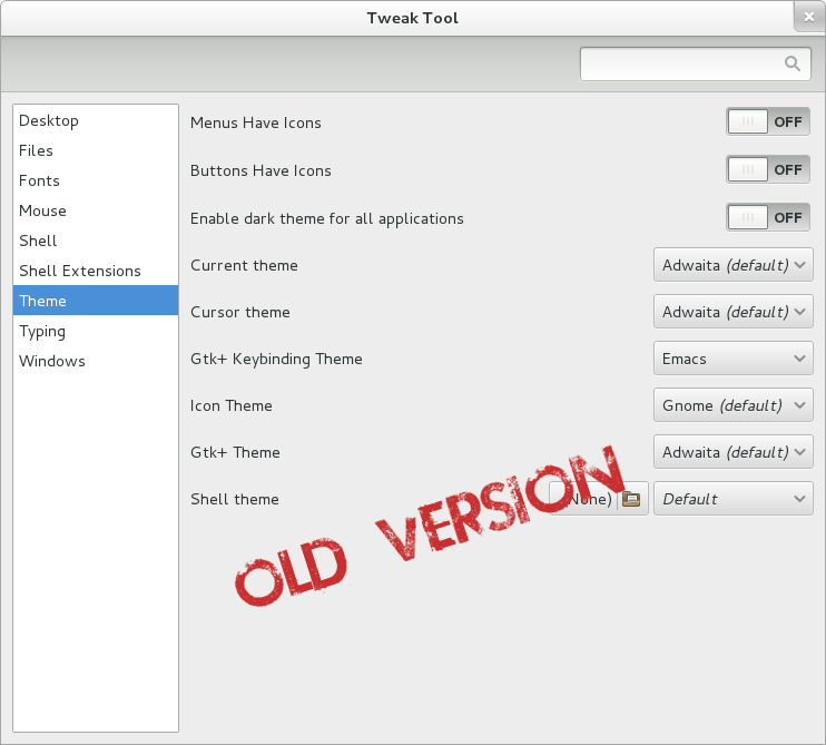 Johns Blog · GNOME Tweak Tool 3 10 Improvements